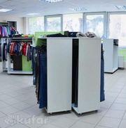 Оборудование для магазина одежды, накопители ДСП, в связи с закрытием