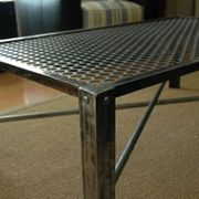 Стол из металла 1000х500х600